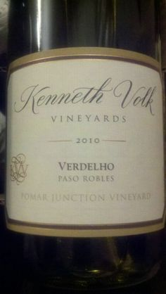 Average of 88.5 points in 11 community wine reviews on 2010 Kenneth Volk Verdelho El Pomar Junction Vineyard, plus professional notes, label images, wine details, and recommendations on when to drink.