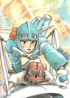 Nausicaä of the valley of the wind torrent