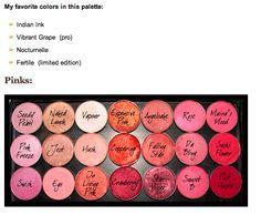 Mac Palette Pink