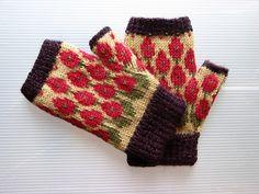 Ravelry: tillybuddy's fingerless gloves