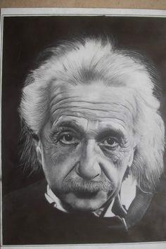 Albert Einstein ~ pencil drawing