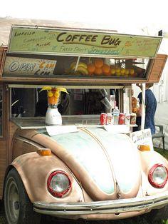 Coffee Bug .. at Texas Antiques Week .. warrenton, texas