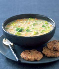 Posilující polévka se zázvorem