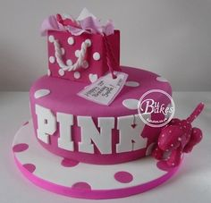 Cakes for Adults - BuBakes Victoria's Secret PINK themed cake