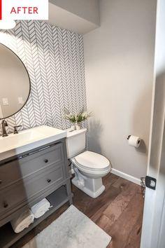 Kleine Badezimmer Umbau Vanity Home Improvement Diy Bathroom Remodel, Diy Bathroom Decor, Bathroom Renos, Simple Bathroom, Bathroom Interior, Bathroom Ideas, Bathroom Organization, Budget Bathroom, Bathroom Cabinets