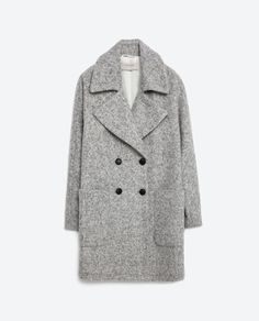 Image 11 of CROSSOVER WOOL COAT from Zara