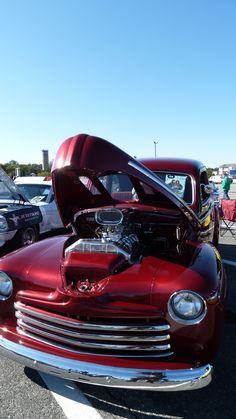 Fall Car Show 2014 in Lewes.