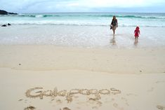 Galapagos most beautiful beach Playa Chino -  Copyright by Ants-in-our-pants.com