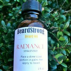 Radiance UNSCENTED Beard Oil ½ oz