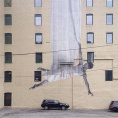 Ballerina Mural, New York City. #art