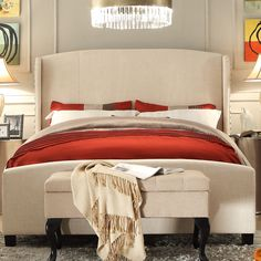 Shop AllModern for Platform Beds for the best selection in modern design.  Free shipping on all orders over $49.