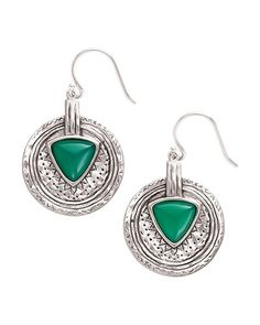 www.mysilpada.com/jennifer.pasion to order. Emerald Isle Earrings, Earrings - Silpada Designs