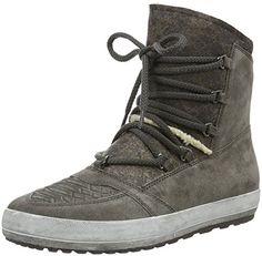 bb5f5e40117fe3 Gabor Shoes 56.438 Damen Kurzschaft Stiefel Grau (elephant (Webl.) 31) 38.5