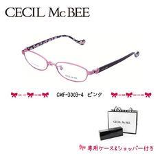 セシルマクビー フレーム 伊達 メガネ 眼鏡 CECIL McBEE CMF3003-4 レディース|treasureland