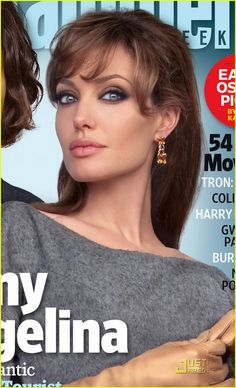 Angelina Jolie & Johnny Depp Cover Entertainment Weekly