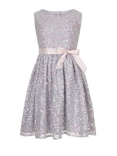Monsoon Ottalia Sparkle Dress | very.co.uk