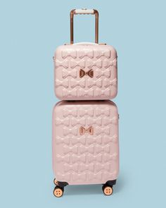 Bow detail vanity case - Pink | Bags | Ted Baker UK