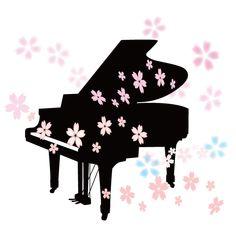 桜とピアノイラスト Seasons, Happy, Cards, Pictures, Colorful Drawings, Wallpapers, Photos, Seasons Of The Year, Ser Feliz