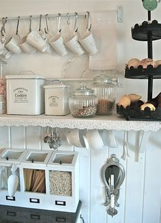 If we had a tea and coffee station like this in our house you would be at it ALL DAY!!