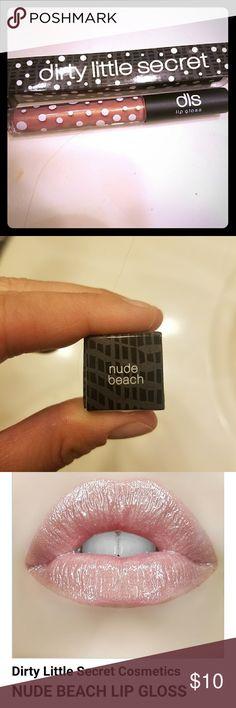3 for $25 Dirty little secret lipgloss- nude beach New dirty little secret lipgloss - nude beach dirty little secret Makeup Lip Balm & Gloss