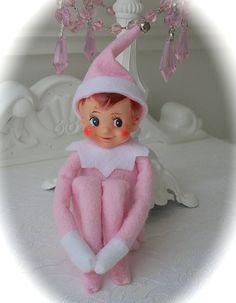 Vintage Pink Elf Knee Hugger by MyLittlePinkShop on Etsy, $26.99