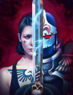 Warhammer 40000,warhammer40000, warhammer40k, warhammer 40k, ваха, сорокотысячник,фэндомы,sisters of battle,Ecclesiarchy,Imperium,Империум,Ksenia Gordeeva