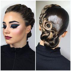 "1,014 Me gusta, 1 comentarios - Sergievskaya Anastasia (@sergievskaya_stylist) en Instagram: ""@_pluxnk_ ✨✨✨ Hairstyle&Makeup by @sergievskaya_stylist #mua #muah #hairstyle #stylist…"""