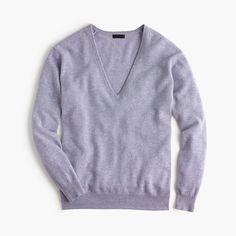 Collection cashmere boyfriend V-neck sweater : j.crew cashmere | J.Crew