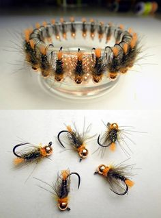Tied flies