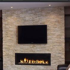 In this post, another popular design myth is going to get busted because we are going to tell you that stone cladding is not just meant for the exterior walls but is a great idea for your interior … Stone Fireplace Wall, Faux Fireplace, Modern Fireplace, Fireplace Ideas, Fireplace Inserts, Faux Stone Walls, Stone Accent Walls, Faux Walls, Stone Wall Living Room
