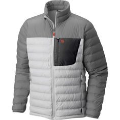 Mountain Hardwear Men's Dynotherm Down Jacket, Size: Medium, Gray