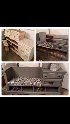This is a perfect way to refurbish a beautiful piece of furniture.