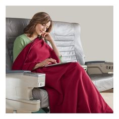 Microfleece Travel Blanket 13 oz for $19