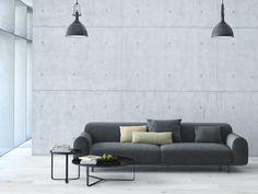 5 pomysłów na beton w salonie  - zdjęcie numer 2