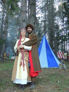10th century Slavic outfits by J.N. Yahdah