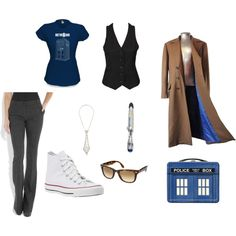 my version of a female tenth doctor outfit.