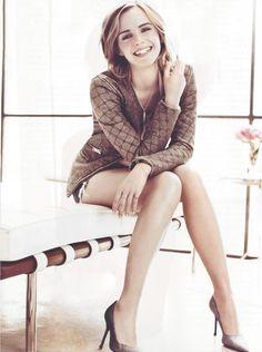 Emma Watson sweet smile ~ cracking pins
