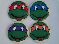 teenage mutant ninja turtle cookies | Teenage Mutant Ninja Turtles | Cookie Connection