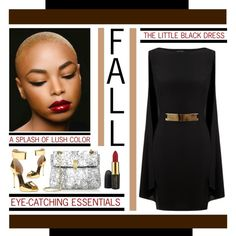"""""""FALL 2014 - The Cape Dress"""" by latoyacl on Polyvore"""