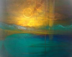 Yellow and Gold in Art by Christina Varnold on Etsyvia https://www.etsy.com/shop/LadyHopefulsShop