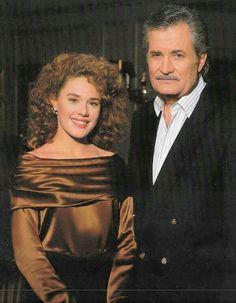Isabelle kiriakis and her father Victor kiriakis