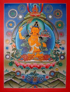 manjushri | Bodhisattva Manjushri - jam-dpal-dbyans