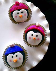 Aww…Penguin Cupcakes