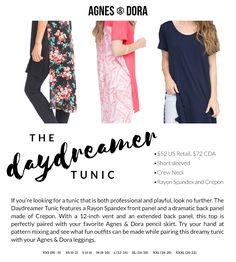 a76e072bbc584 Agnes & Dora DayDreamer Tunic #womensclothing #tunic #comfy #casual  #business