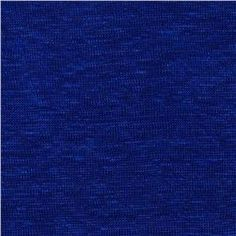 Capri Linen Jersey Knit Royal