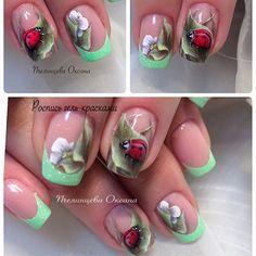 Wonderful Spring nail art designs.