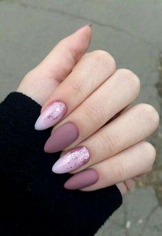 20 elegant nail art designs for prom 2019 36 ~ - Elegant Nails Colorful Nail Designs, Acrylic Nail Designs, Nail Art Designs, Pedicure Designs, Matte Nails, Pink Nails, Gel Nails, Coffin Nails, Matte Pink