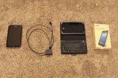 Black Samsung Galaxy Tab3 SM-T210R 8GB16GB SDCardBlack Case Bluetooth Keyboard