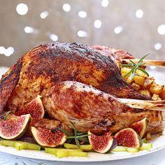 Pintade de Noël aux épices rôtie au four