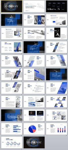 32+ Blue Art Slide Business PowerPoint templates